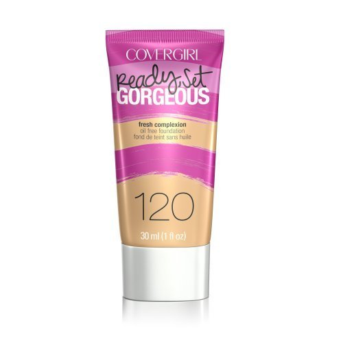 CoverGirl Ready-Set Gorgeous Liquid Makeup Foundation - Nude Beige (Pack of 2)