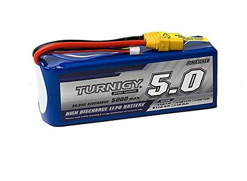 Turnigy 5000mAh 5S 25C Lipo Pack w/XT-90 25c Flight Pack