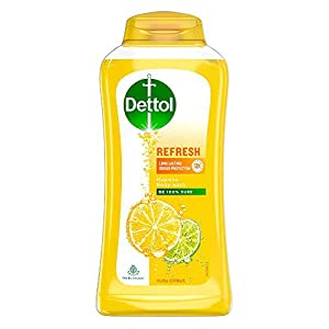 Dettol Body Wash and shower Gel, Refresh – 250ml