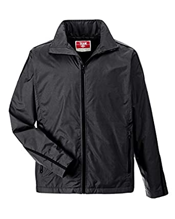 Amazon.com: Team 365 mens Conquest Jacket with Fleece Lining (TT72 ...