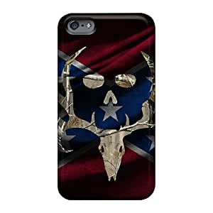 Shock Absorbent Hard Phone Cases For Apple Iphone 6s With Provide Private Custom HD Rebel Bone Collector Image Customcases88
