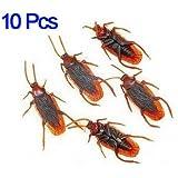 Dcolor 10 falsi insetti Blatte novita' Scarafaggio sembra reale Scherzo
