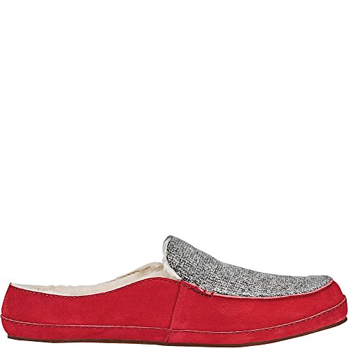 Cooler OLUKAI Alaula Red Grey Shoes Mud Women's qxC7p0z