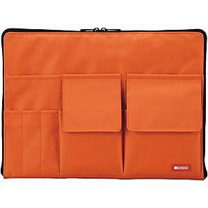 リヒトラブ バッグインバッグ A7554-4 橙 A4
