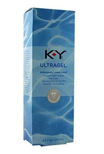 K-Y KY ULTRA GEL Water Based Lubricant (Formerly Sensual Silk) : Size 4.5 Oz. / 133 Ml (Liquid Silk Sensual Lubricant)