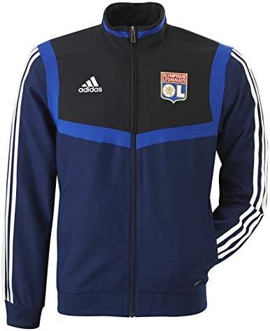 Olympique Lyonnais Sweat Entrainement Adulte Bleu Adidas OL