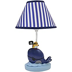 Lambs & Ivy Little Pirates Lamp with shade and Bulb