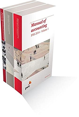 manual of accounting ifrs 2014 pack pricewaterhousecoopers rh amazon com Buku Accounting IFRS ifrs manual of accounting 2014 pdf