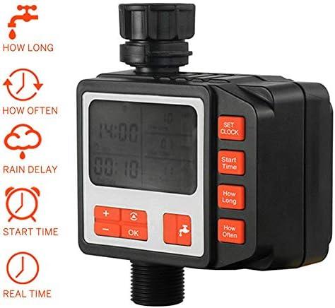 vap26 Automatischer Bewässerungstimer, programmierbarer Wassertimer-LCD-Bildschirm, Schlauchsprinkler-Timer Wasserhahn-Wassertimer-Bewässerungssystem-Controller