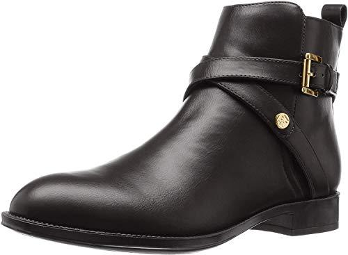 Tommy Hilfiger Women's Rambit Ankle Bootie, Black, 8 M US (Women Tommy Hilfiger Boots)