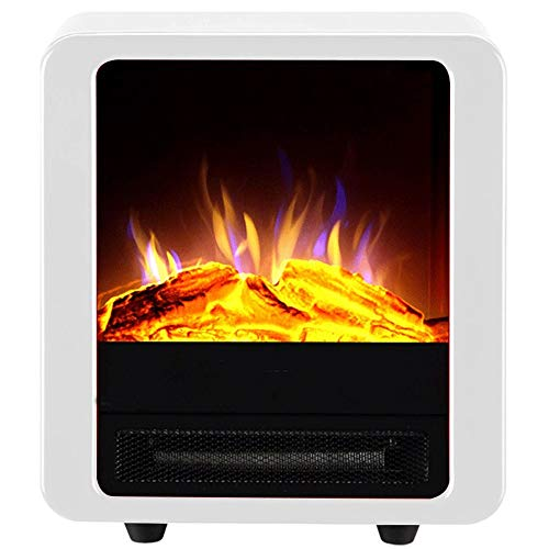 Cheap RKRGQ Electric Stove Fireplaces Electric Fireplace Heater Freestanding Electric Fireplace Heater with Realistic Flame Effect Overheat Protection 900/1800W Black Friday & Cyber Monday 2019