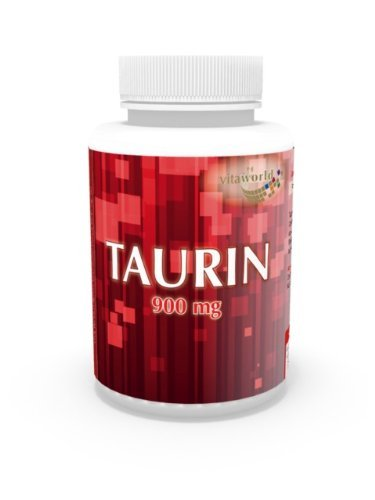 3 Pack Taurine 900mg 390 Capsules German pharmacy production