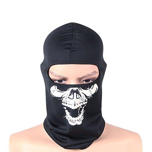 Odowalker Professional Windproof Full Cover Face Mask Neck Gaiter Sports Headwear Cap Helmet Liner for Skiing,Motorcycling,Running,Biking,Trekking,Fishing,Mountain Climbing- - Cycle Skinsuit