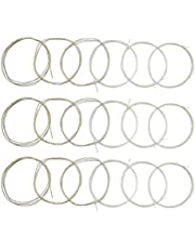 JYsun Classical Guitar Strings 3 full sets Clear Nylon for E-1st B-2nd G-3rd and Nylon Core Silver-Plated Copper Alloy Wound for D-4th A-5th E-6th