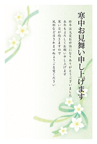[해외]5 매 들 중 카드 엽서 (수 선화) (중 (세로)) / Five-piece cold-in-the-middle postcard (Sky Daffodil) (vertical)