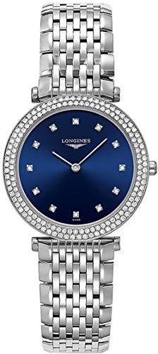 Women's Longines La Grande Classique Blue Dial Diamond Luxury Watch L4.515.0.97.6 ()