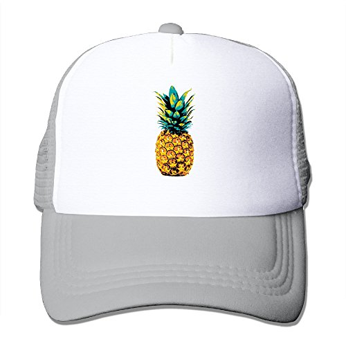 Retro Pineapple Tropical Design Beach California Trucker Snapbacks - Tropical Hat