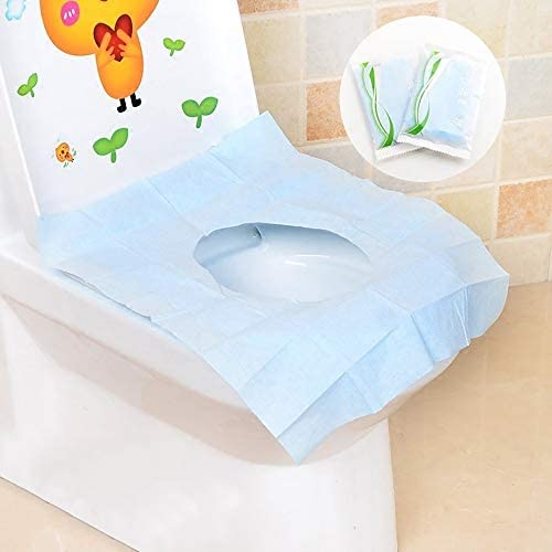 10個使い捨てトイレパッドホテル旅行旅行防水および細菌使い捨てトイレパッドクッション