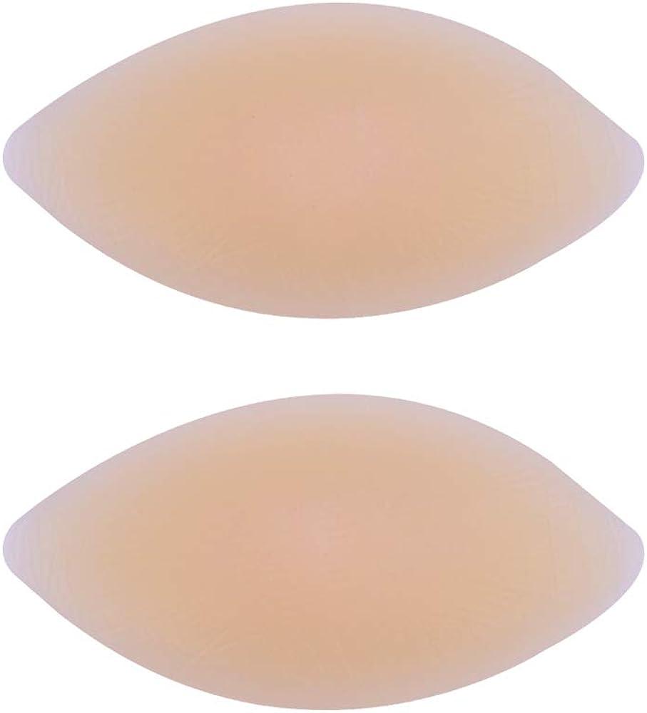 ONEFENG Rinforzo seno in silicone Inserti reggiseno Ingrandimento seno per piccoli pettorali Reggiseni push-up per costumi da bagno da donna e bikini
