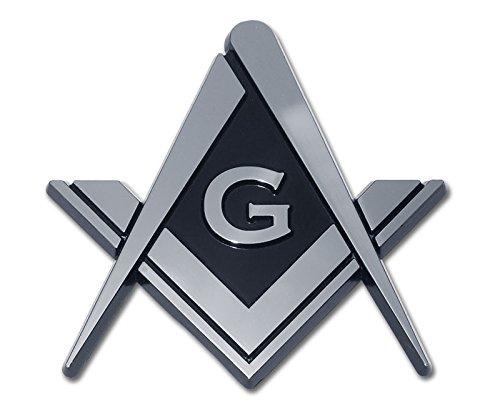 Mason Masonic Premium Metal Auto Emblem