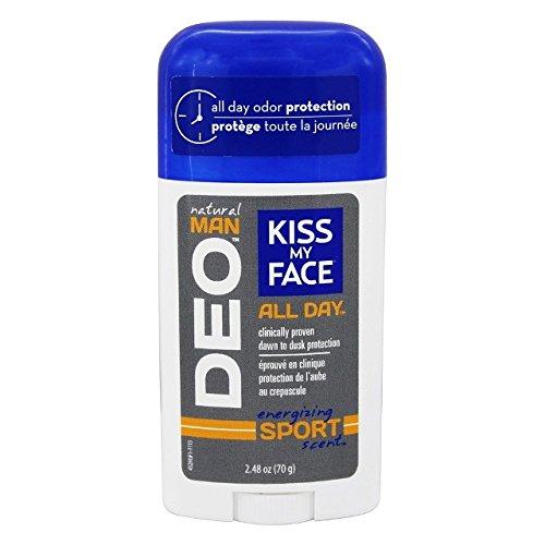 Kiss My Face Men's Sport Deodorant, 2.48 Ounce