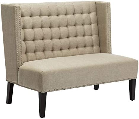 Yongqiang Tufted Upholstered Settee Bench