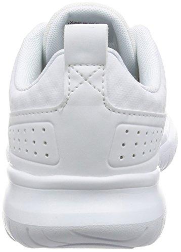Adidas Cloudfoam Lite Flex W, Scarpe da Ginnastica Donna, Bianco (Ftwbla/Ftwbla/Negbas), 41 EU