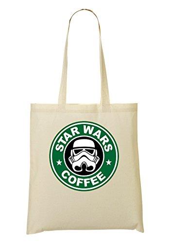 Wars Sac à café logo Star tout fourre vert 00g4wPnA