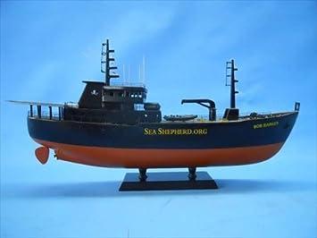 Amazon | 手作りの模型船Barker1...