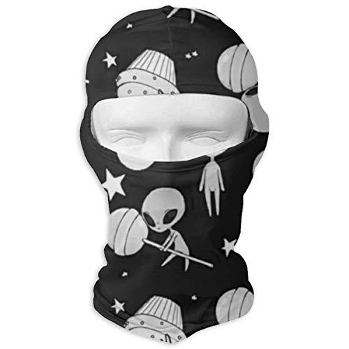 Cute Alien Lollipop Windproof Dustproof Face Mask Balaclava UV Prevention Hood Hat ()