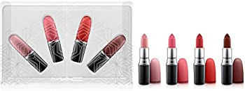 MAC Snow Ball Holiday Kit Snow Ball Full-Size Warm Lipstick Set