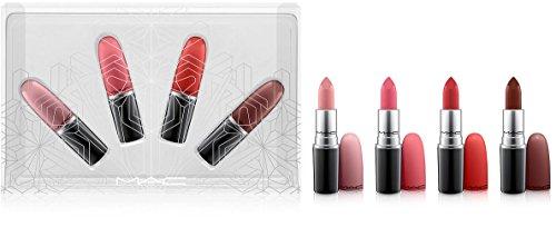 MAC Snow Ball Holiday Kit / Snow Ball Lip Kit Warm 4 Mate Lipsticks