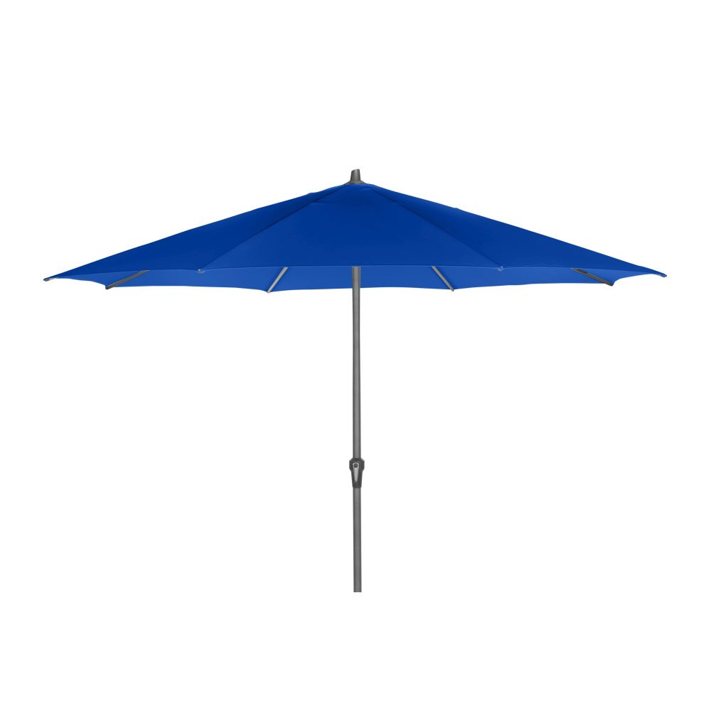 Siena Garden C21157 Avio Mittelstockschirm, Blau, 350 x 350 x 262 cm