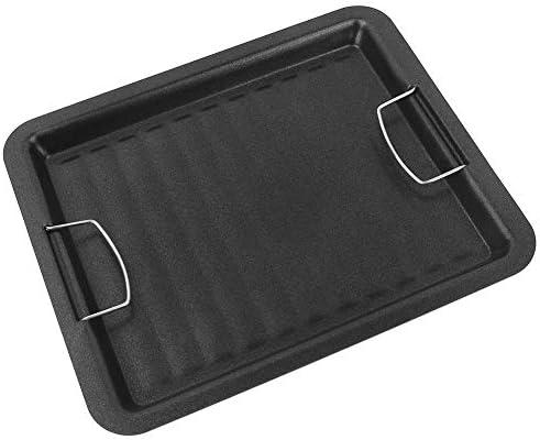 30 x 25 cm all'aperto barbecue padella grill antiaderente carbone utensili speciali Bakeware barbecue, picnic, campeggio