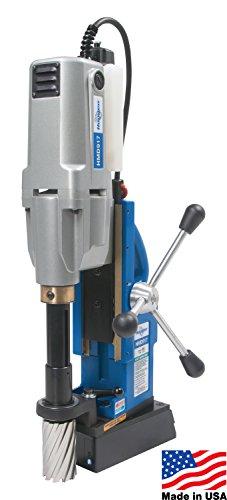 Hougen HMD917 Magnetic Drill - 2 Speed/Swivel Base/Coolant - 115V