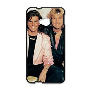 HTC One M7 Cell Phone Case Covers Black Modern Talking E0582373
