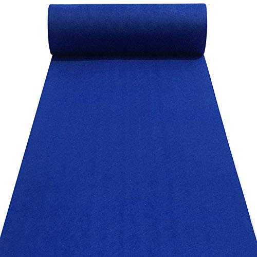 Aisle Runners Wedding Accessories Royal Blue Aisle Runner Carpet Rugs for Step and Repeat Display, Ceremony Parties and Events Indoor or Outdoor Decoration 24 Inch Wide x 15 feet -