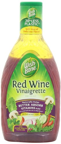 Wish-Bone Salad Dressing, Red Wine Vinaigrette, 16 Ounce (Pack of - Dressing Vinaigrette Wine