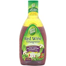 Wish-Bone Salad Dressing, Red Wine Vinaigrette, 16 Ounce (Pack of 6)