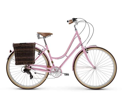 Raleigh Bikes Women's Superbe City Bike, Pink, 47cm/Medium