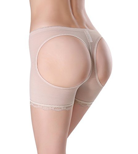 plus size butt lifter boy shorts - 3