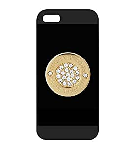 Iphone 5s Funda Case (MK) Michael Kors Luxury Brand Logo - Iphone 5 5s Customised Funda Case for Men - Hard Plastic Funda Case Slim Guard