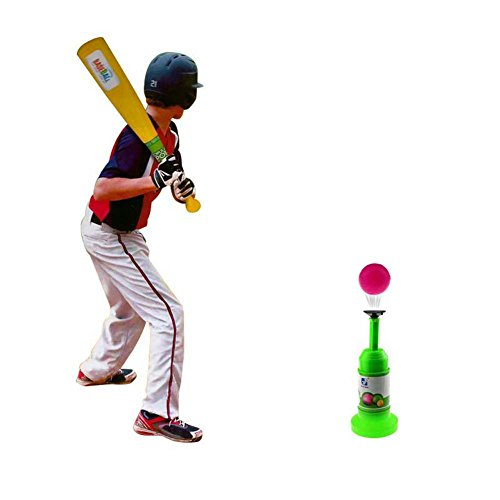 Sminiker Semi-Automatic Launcher Kids Baseball Toys for 3-5 year old Training Set