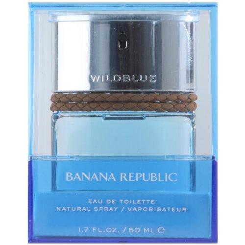 (Banana Republic Wild Blue for Men 1.7 oz Eau de Toilette Spray)