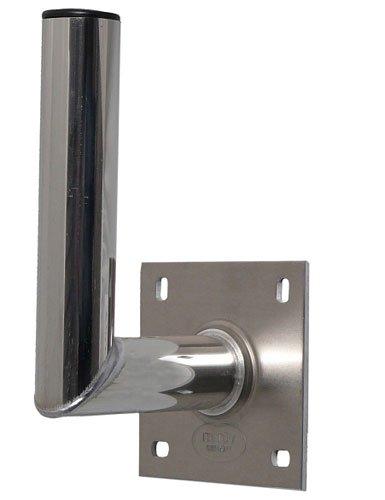 A.S.Sat Wandhalter Aluminium Edelstahloptik 15 cm TÜV geprüft
