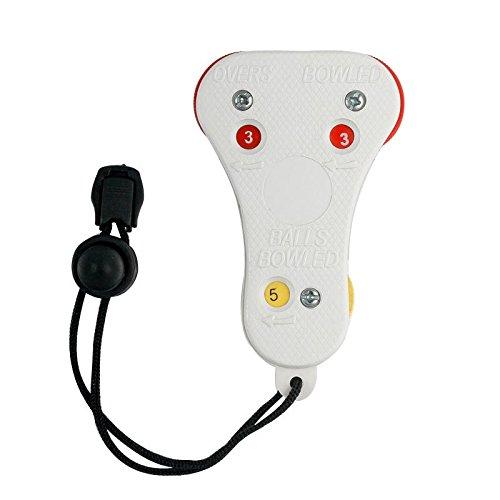 Zähler für Cricket-Schiedsrichter Umpiring PDA, offizieller Ball Spillover Stück Only Cricket