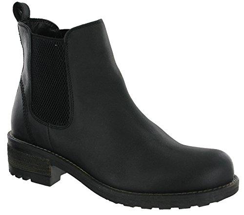 Cipriata Chelsea Boots Italian Leather Twin Gusset Womens' L5040 Black b79mSHAkmF