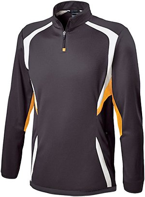Holloway Adult Transform Pullover , Black/Gold, S by Holloway