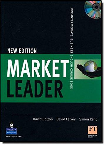 Mkt Leader Pre-Int CBk/M-Rom Pk (Market Leader)