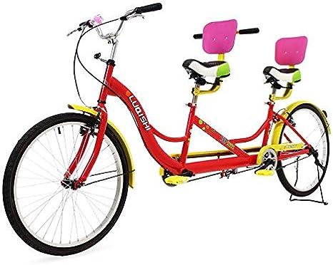 Riscko Bicicleta Tándem Tan01: Amazon.es: Deportes y aire libre